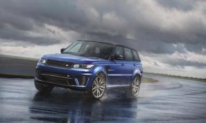 Range Rover Sport SVR unveiled