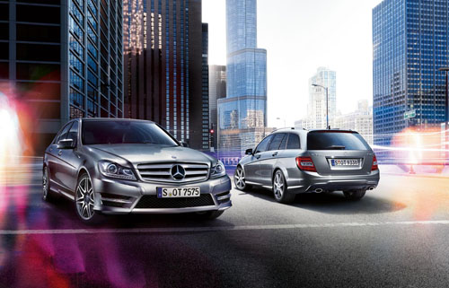 Mercedes-Benz C-Class range upgraded for 2013