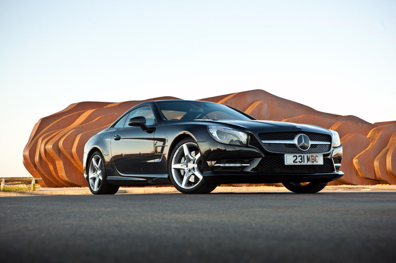 Mercedes SL-Class gains extra kit from June 2013