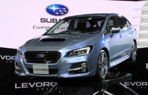 Subaru Levorg concept unveiled at Tokyo Motor Show