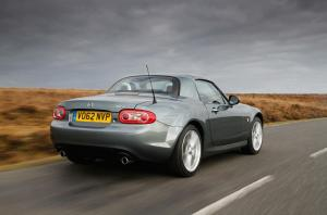 Upgraded Mazda MX-5
