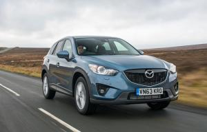 Mazda CX-5 receives suspension and other revisions for 2014
