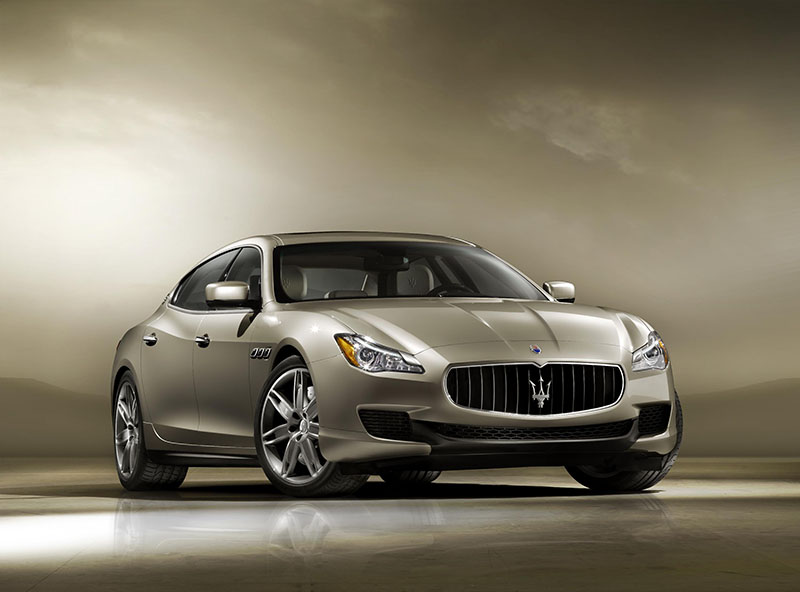 The new 2013 Maserati Quattroporte
