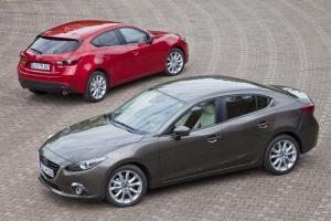 New Mazda 3 hatchback and saloon