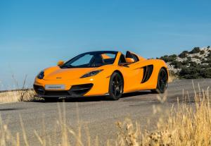 Limited edition McLaren 50 12C and 12C Spider