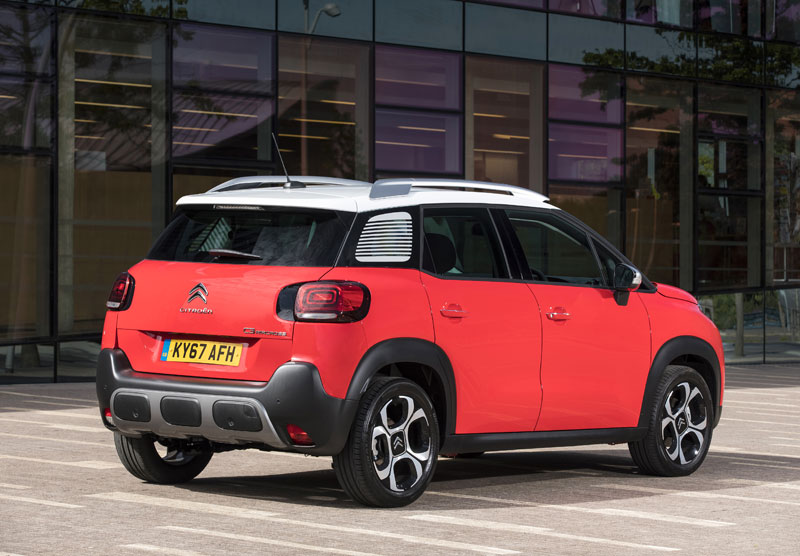 citroen c3 aircross review reviews testdriven. Black Bedroom Furniture Sets. Home Design Ideas