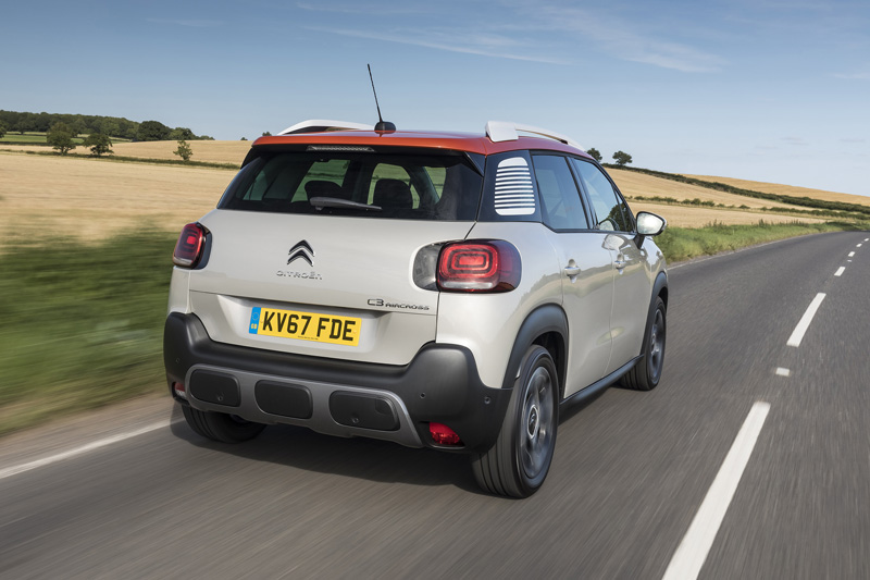 2018 citroen c3 aircross review testdriven. Black Bedroom Furniture Sets. Home Design Ideas