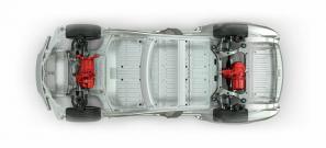 Tesla Model S dual-motor platform