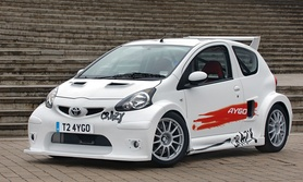 200hp Toyota Aygo Crazy to debut at British International Motor Show