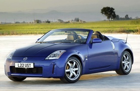Nissan 350Z Roadster given the go-ahead for the UK