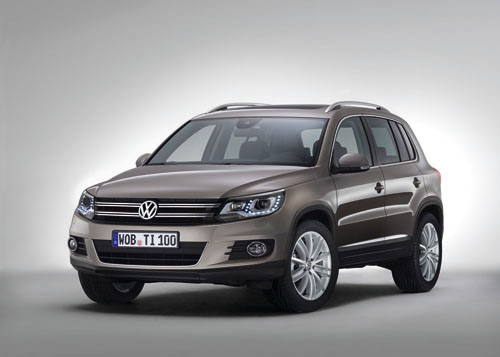 First official images of revised VW Tiguan