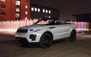 The new Range Rover Evoque Convertible