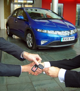 Customers Buying A New Honda Civic Can Now Get Free Car Insurance For Seven Days So They Can Buy And Then Drive Away