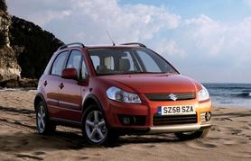 0% finance and 3 years road tax for Suzuki SX4 and Grand Vitara