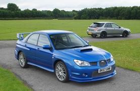 Subaru Impreza GB270 last of the line models