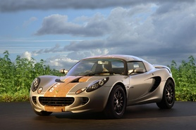 Lotus Eco Elise built using sustainable materials