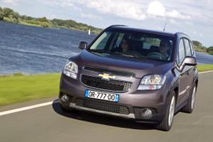 Prices for new Chevrolet Orlando MPV announced