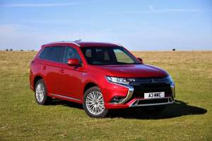 Mitsubishi Outlander PHEV range revised for 2020