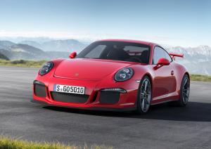 The new fifth-generation Porsche 911 GT3
