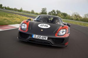 The new Porsche 918 Spyder