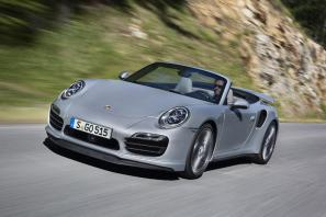 2014 Porsche 911 Turbo Cabriolet priced from £126,766