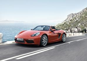 New Porsche 718 Boxster: new name, new turbo engines