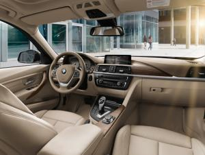 The new 2012 BMW 3-Series saloon