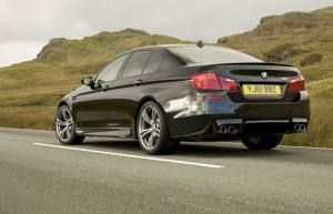 The new 2012 BMW M5 Saloon
