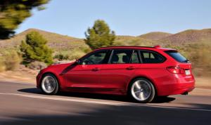 The new 2012 BMW 3-series Touring