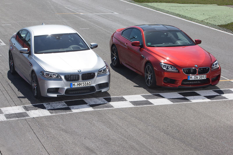 The new BMW M5 and M6