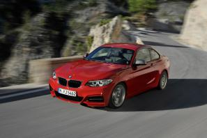 BMW 2 Series Coupe unveiled