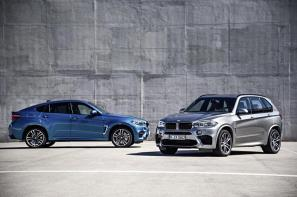 2015 BMW X5 M and X6 M unveiled