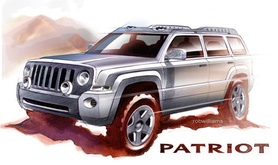Jeep Patriot and Compass Rallye Concepts