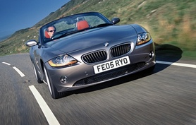 The new BMW Z4 2.0i launched