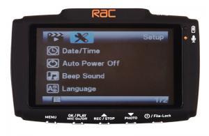 RAC 02 GPS Dash Cam