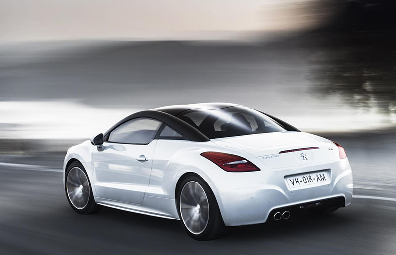 Restyled Peugeot RCZ first deliveries expected January 2013