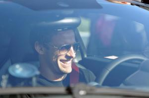 Jenson Button and Lewis Hamilton test the McLaren 12C