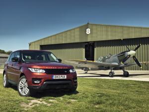 Range Rover Sport vs. Spitfire