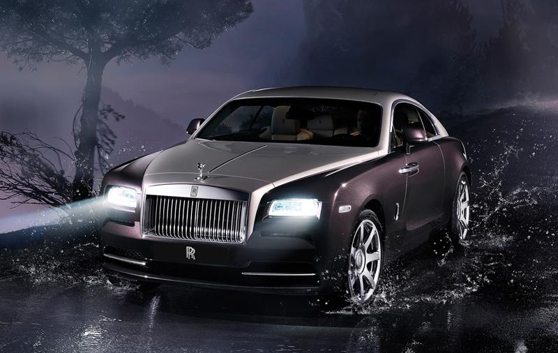 The Rolls-Royce Wraith