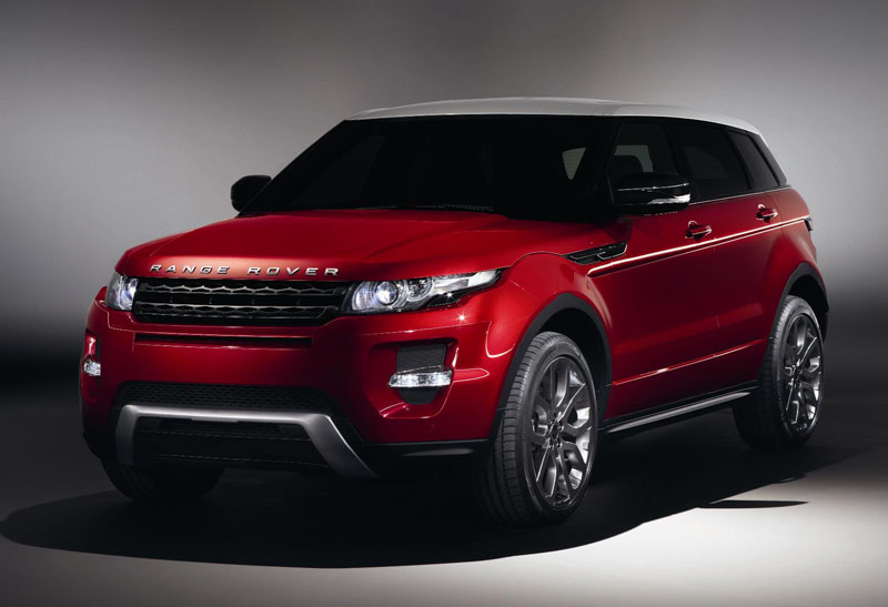 Official photos of new five-door Range Rover Evoque