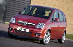 New engines and a new look for Vauxhall Meriva