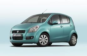 Suzuki Splash unveiled