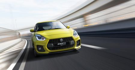 New Suzuki Swift Sport unveiled