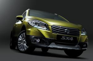 New Suzuki SX4 Crossover unveiled