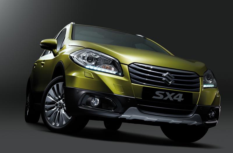 New Suzuki SX4 Crossover unveiled