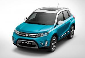 2015 Suzuki Vitara debuts in Paris