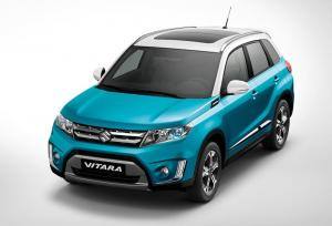 2015 Suzuki Vitara debuts in Paris