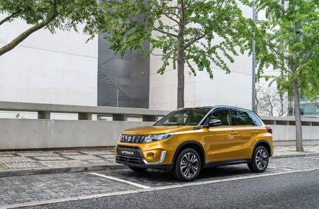 Suzuki Vitara updated for 2019 model year