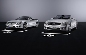 The new Mercedes-Benz SL 63 AMG and SL 65 AMG