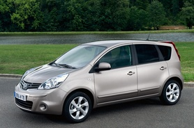 Nissan Note revised for 2009